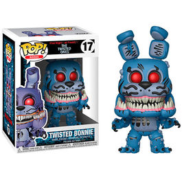 FIGURA POP FIVE NIGHTS AT FREDDY´S THE TWISTED ONES TWISTED BONNIE 9 CM