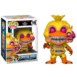 FIGURA POP FIVE NIGHTS AT FREDDY´S THE TWISTED ONES TWISTED CHICA 9 CM