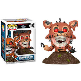 FIGURA POP FIVE NIGHTS AT FREDDY´S THE TWISTED ONES TWISTED FOXY 9 CM