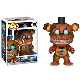 FIGURA POP FIVE NIGHTS AT FREDDY´S THE TWISTED ONES TWISTED FREDDY 9 CM