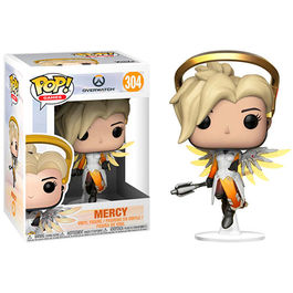 FIGURA POP OVERWATCH MERCY 9 CM