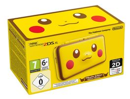 CONSOLA NEW NINTENDO 2DS XL PIKACHU EDITION