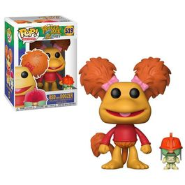 FIGURA POP FRAGGLE ROCK RED WITH DOOZER 9 CM