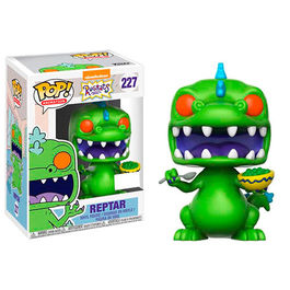FIGURA POP RUGRATS REPTAR CEREAL BOX 9 CM