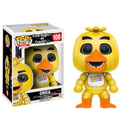 FIGURA POP FIVE NIGHTS AT FREDDY´S CHICA 9 CM