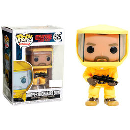 FIGURA POP STRANGER THINGS HOPPER IN BIOHAZARD SUIT EXCLUSIVE 9 CM