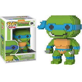 FIGURA POP 8-BIT TEENAGE MUTANT NINJA TURTLES LEONARDO 9 CM