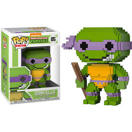 FIGURA POP 8-BIT TEENAGE MUTANT NINJA TURTLES DONATELLO 9 CM