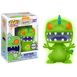 FIGURA POP RUGRATS REPTAR GLOW IN THE DARK 9 CM