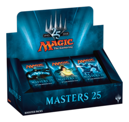 CARTAS MAGIC MASTERS 25 SOBRE (INGLES)