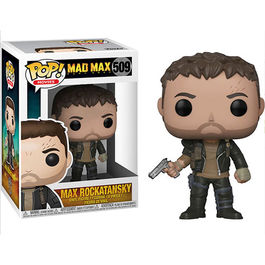 FIGURA POP MAD MAX FURY ROAD MAX WITH GUN 9 CM