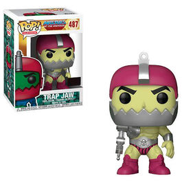 FIGURA POP MASTERS OF THE UNIVERSE TRAP JAW METALLIC EXCLUSIVE 9 CM