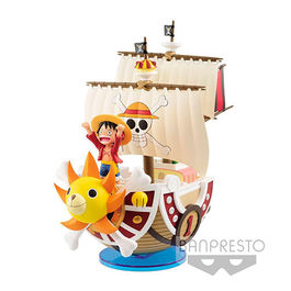 FIGURA ONE PIECE MEGA WFC THOUSAND SUNNY 19 CM