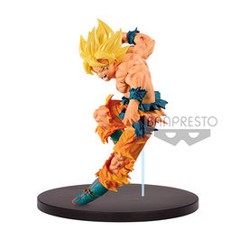 FIGURA DRAGON BALL Z MATCH MAKERS SUPER SAIYAN SON GOKU 15 CM