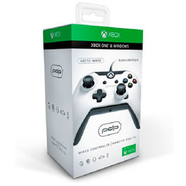 CONTROLLER WIRED WHITE PDP XBOX ONE - PC