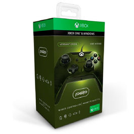 CONTROLLER WIRED VERDANT GREEN PDP XBOX ONE - PC