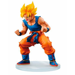 FIGURA DRAGON BALL Z DRAMATIC SHOWCASE SUPER SAIYAN GOKU 13 CM