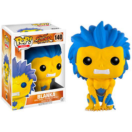 FIGURA POP STREET FIGHTER BLANKA YELLOW 9  CM