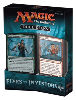 CARTAS MAGIC DUEL DECK ELVES VS INVENTORS (INGLES)