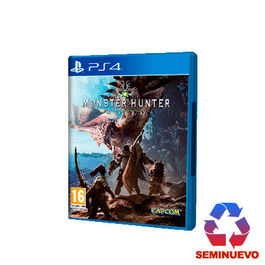 MONSTER HUNTER WORLD PS4 (SEMINUEVO)