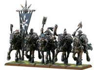 WH CHAOS MARAUDER HORSEMEN (SLAVES TO DARKNESS ANTIGUO)