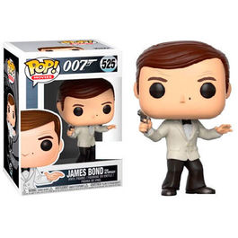 FIGURA POP JAMES BOND FROM OCTOPUSSY ROGER MOORE  9CM