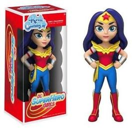 FIGURA ROCK CANDY DC SUPER HERO GIRLS WODER WOMAN 13 CM