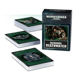 WH 40K DEATHWATCH DATACARDS (CARTAS)