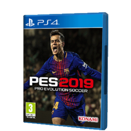 PRO EVOLUTION SOCCER 2019 PS4 + CAMISETA PES