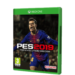 PRO EVOLUTION SOCCER 2019 XBOX ONE + CAMISETA PES