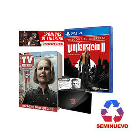 WOLFENSTEIN II THE NEW COLOSSUS WELCOME TO AMERICA EDITION PS4 (SEMINUEVO)