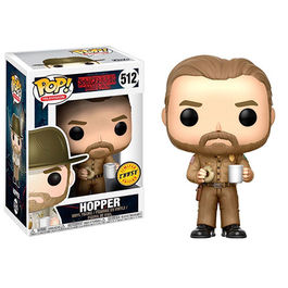 FIGURA POP STRANGER THINGS HOPPER CHASE EDITION 9 CM