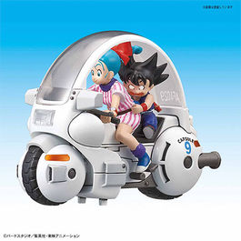 DRAGON BALL MECHA COLLECTION VOL.1 BULMA´S CAPSULE #9 8 CM
