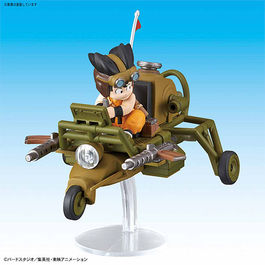DRAGON BALL MECHA COLLECTION VOL.4 SON GUKU´S JET BUGGY 8 CM