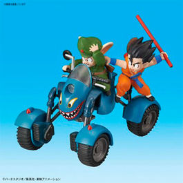 DRAGON BALL MECHA COLLECTION VOL.6 OOLONG´S ROAD BUGGY 8 CM