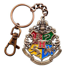 LLAVERO HARRY POTTER HOGWARTS METALICO NOBLE COLLECTION