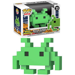 FIGURA POP 8-BIT SPACE INVADERS MEDIUM INVADER 9 CM