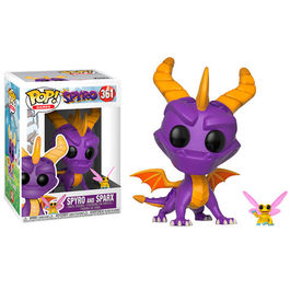 FIGURA POP SPYRO THE DRAGON SPYRO AND SPARX 9 CM
