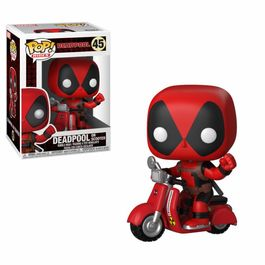 FIGURA POP MARVEL DEADPOOL & SCOOTER 10 CM