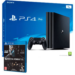 CONSOLA PS4 PRO 1 TB PS4 + MORTAL KOMBAT XL PS4