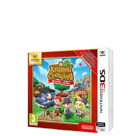 ANIMAL CROSSING NEW LEAF WELCOME AMIIBO NINTENDO SELECTS 3DS