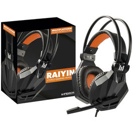 AURICULARES HEADSET INDECA RAIYIN STEREO GAMING PS4/XONE/SWITCH/PC/MAC
