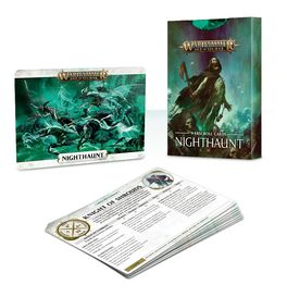 WH NIGHTHAUNT WARSCROLLS CARDS (CARTAS)