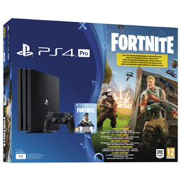 CONSOLA PS4 PRO + VOUCHER FORTNITE PS4