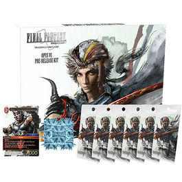 FINAL FANTASY TCG OPUS VI KIT DE PRESENTACION