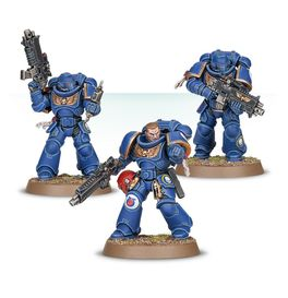 WH INTERCESSORS SPACE MARINE (EASY TO BUILD)