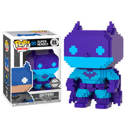 FIGURA POP 8-BIT DC COMICS BATMAN EXCLUSIVE 9 CM
