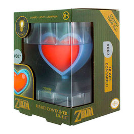 LAMPARA 3D THE LEGEND OF ZELDA HEART CONTAINER 10 CM