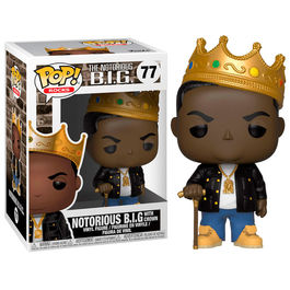 FIGURA POP ROCKS NOTORIUS B.I.G. WITH CROWN 9 CM