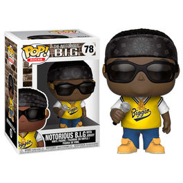 FIGURA POP ROCKS NOTORIUS B.I.G. IN JERSEY 9 CM